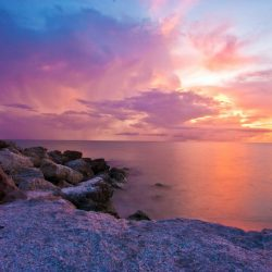 Canva - Sunset by the Sea